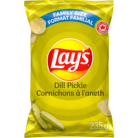 Lays - Dill Pickle Chips, 235 Gram