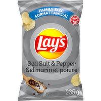 Lays - Sea Salt & Pepper Chips, 235 Gram