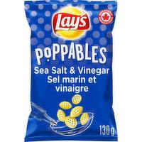 Lays - Popp Sea Salt & Vinegar Snack, 130 Gram