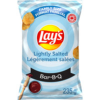 Lays - Lightly Salted BBQ Chips, 235 Gram