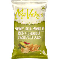 Miss Vickies - Spicy Dill Pickle Kettle Chips, 200 Gram