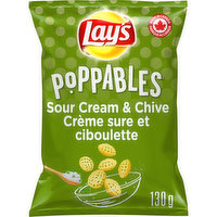 Lays - Poppables Sour Cream & Chives, 130 Gram