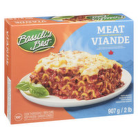 Frozen. Fresh Pasta with Hearty Tomato Meat Sauce and Mozzarella Cheese. Serves 4 Portions.