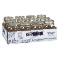 Bernardin - Regular Mason Jars, 12 Each
