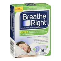 Breathe Right - Nasal Strips Extra - Clear