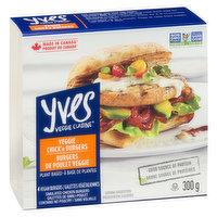 Yves - Veggie Chicken Burgers, 4 Each