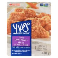 Yves - Veggie Cuisine - Veggie Chicken Nuggets, 200 Gram