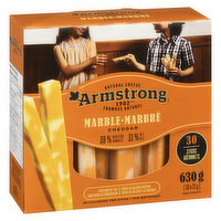 Armstrong - Natural Cheese Sticks - Marble Cheddar