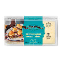 Armstrong - Natural Sliced Cheese - Creamy Havarti