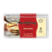 Armstrong - Natural Cheese Slices - Swiss