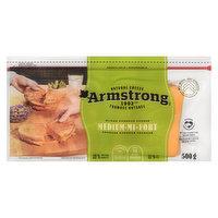 Armstrong - Natural Sliced Cheese - Medium Cheddar, 24 Each
