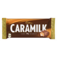 Cadbury Milk Chocolate with Caramel Filling.