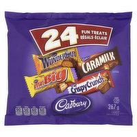 Cadbury - Fun Treats Assorted, 24 Each