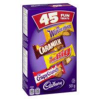 Cadbury - Fun Treats Assorted, 45 Each
