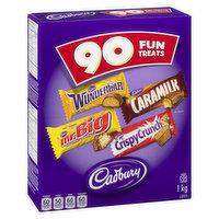 Cadbury - Fun Treats Assorted, 90 Each
