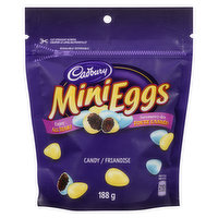 Solid Milk Chocolate Eggs in a Crisp Candy Shell.