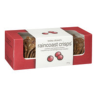 Lesley Stowe - Raincoast Crisps Crackers - Cranberry & Hazelnut, 150 Gram