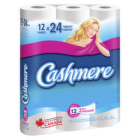 Cashmere - Double Roll 12 Equls 24 Bath Tissue