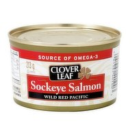 Our Sockeye salmon is packed solid style, one large piece, and in its own juices for natural goodness.