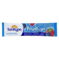 Fruit Snack 100%. Groovy Strips. Nut Free.
