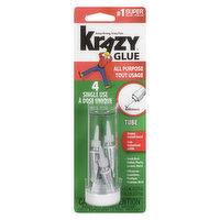 Krazy Glue Krazy Glue - All Purpose 4 Single Use, 4 Each