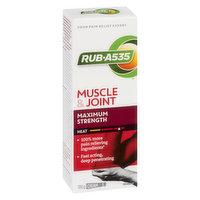 Rub A 535 - Muscle & Joint Heating Cream - Maximum Strength