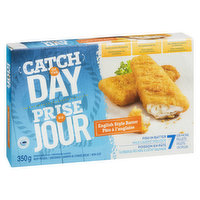 Wild caught pollock. Good source of protein, no preservatives, and no artificial colours or flavours. 7 or more fillets.