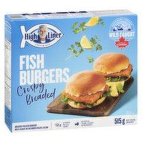High Liner - Fish Burger, 8 Each
