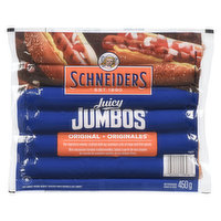 Schneiders - Juicy Jumbos Wieners Original, 450 Gram