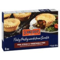 Schneiders - Mini Steak & Vegetable Pies
