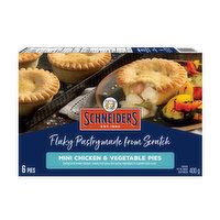 Schneiders - Mini Chicken & Vegetable Pies