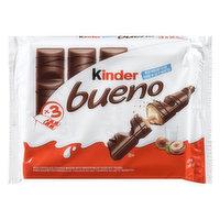 Kinder - Bueno Chocolate Bars, 3 Each