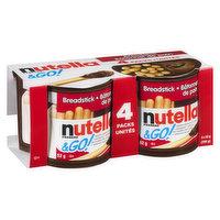 Nutella - Nutella & Go Breadstick Mltpck, 4 Each