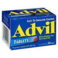 Advil Advil - Tablets 200mg, 24 Each