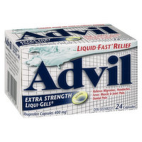 Advil Advil - Extra Strength Liqui-Gels 400mg, 24 Each