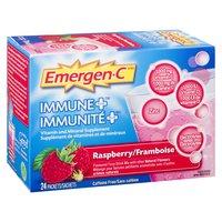 Emergen C - Immune Plus 1000mg Vitamin C - Raspberry