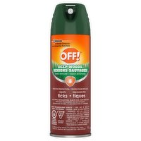 Effective protection for repelling ticks, also repels mosquitoes, black flies, and deer flies. Aerosol spray allows for application in a continuous sweeping motion.