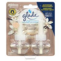 Glade - Plugins Scented Oils Pure Vanilla Joy, 2 Each
