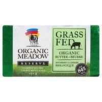Organic Meadow - Organic Butter - 84% MF Grass Fed & Lightly Salted, 250 Gram