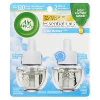 Air Wick - Essential Oils Refills - Crisp Breeze, 2 Each