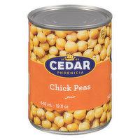 Cedar Cedar - Chick Peas, 540 Millilitre