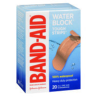 Band-Aid - Tough Strips Waterproof Bandages One Size