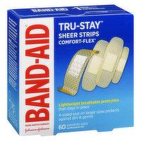 Band-Aid Band-Aid - Plastic Comfort Flex Bandages Assorted, 60 Each