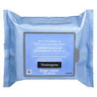 Neutrogena - All in One Makeup Removing Cleansing Wipes, 25 Each