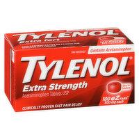 Tylenol - Extra Strength eZ Tabs 500mg, 100 Each