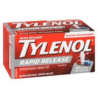 Tylenol - Rapid Release Gelcaps - Extra Strength 500mg