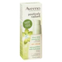 Aveeno - Sheer Daily Moisturizer SPF 30, 73 Millilitre