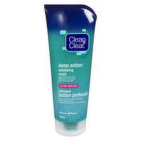 Clean & Clear - Deep action Exfoliating Scrub, 198 Gram