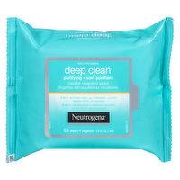 Neutrogena Neutrogena - Deep Clean Purifying Micellar Cleansing Wipes, 25 Each