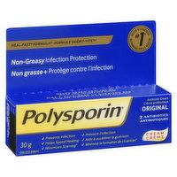 Polysporin - Antibiotic Cream 2 Antibiotics - Original, 30 Gram